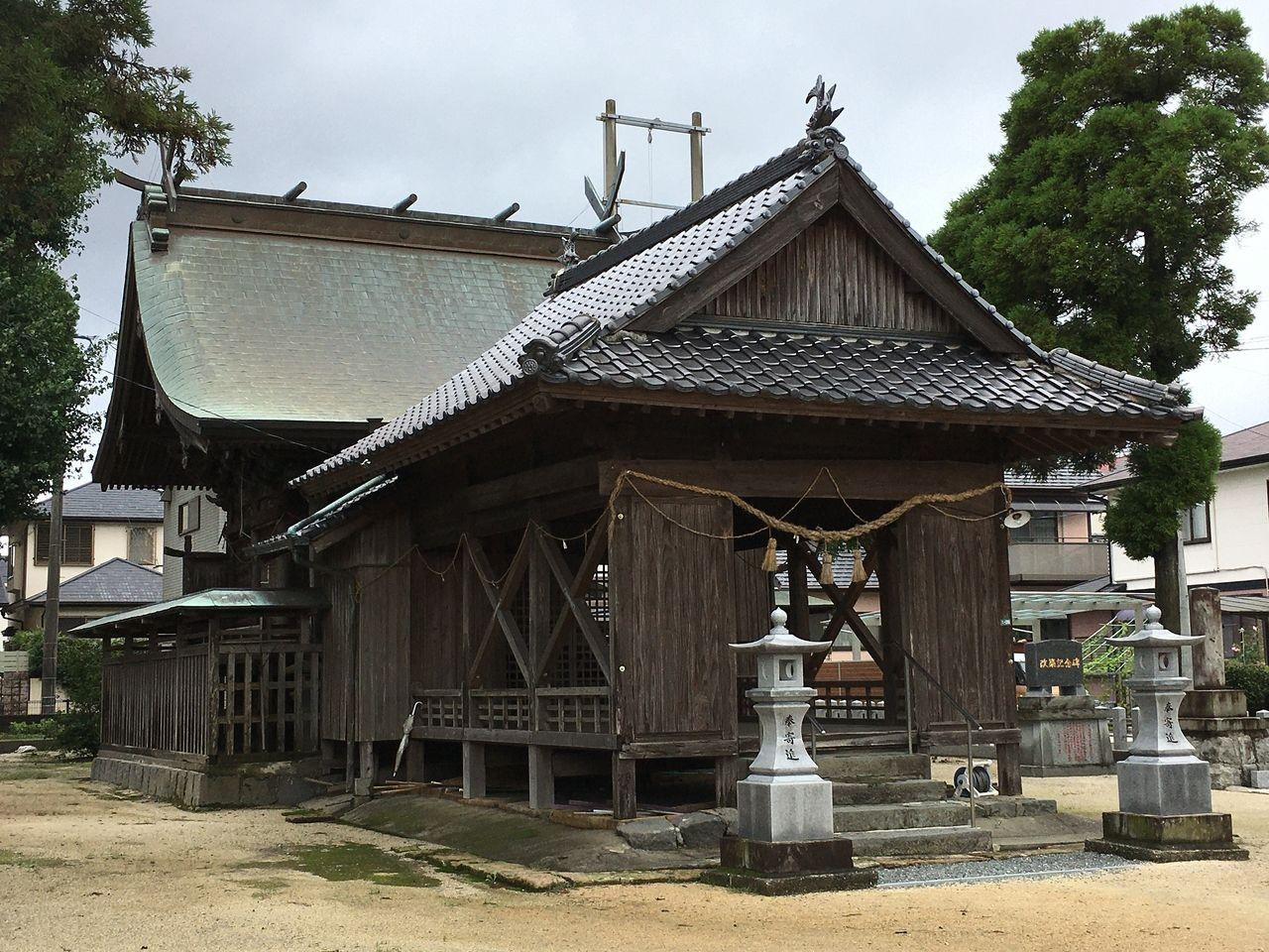 西無田雨宮神社本殿