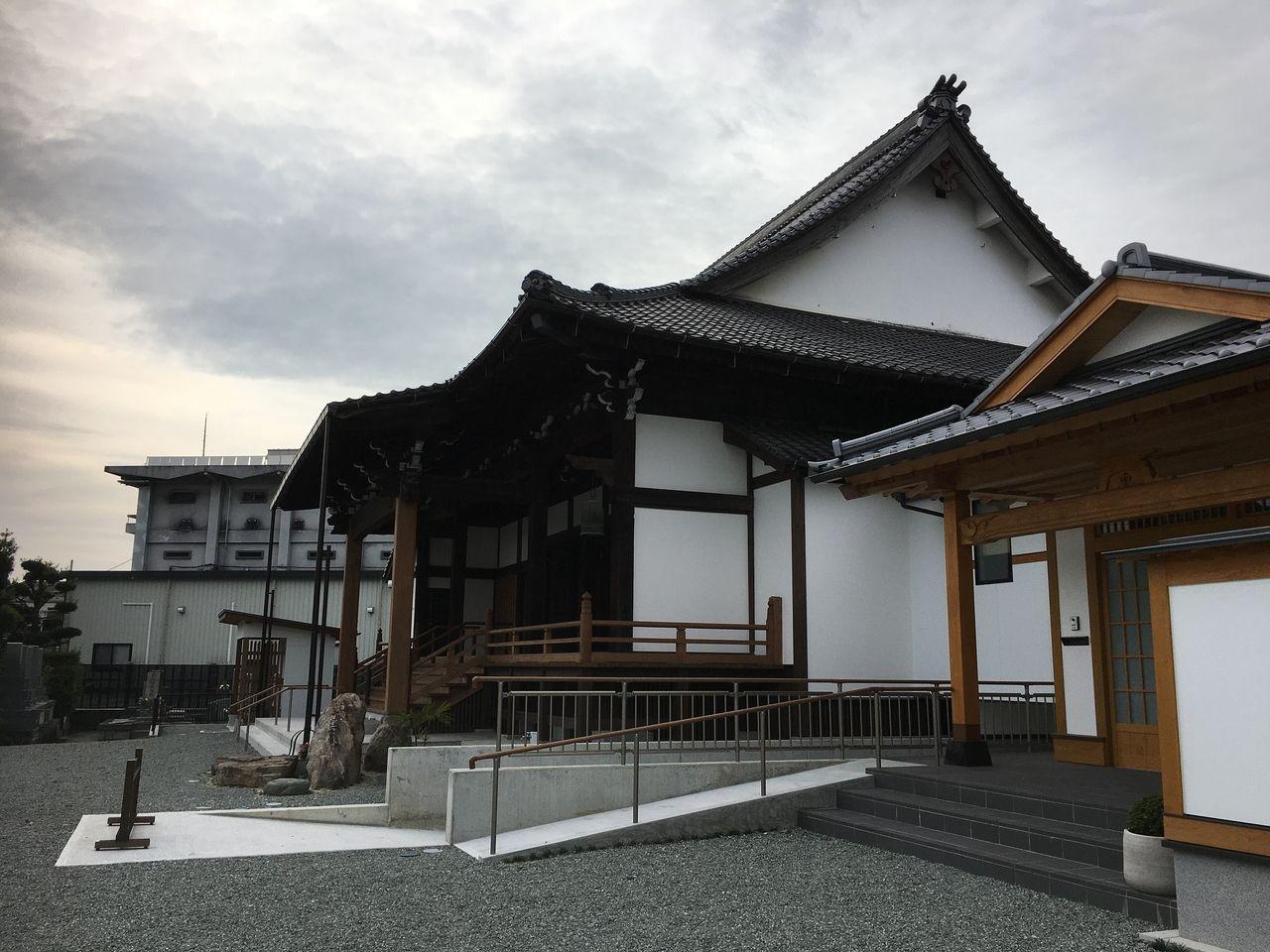 熊本市南区西蓮寺本堂