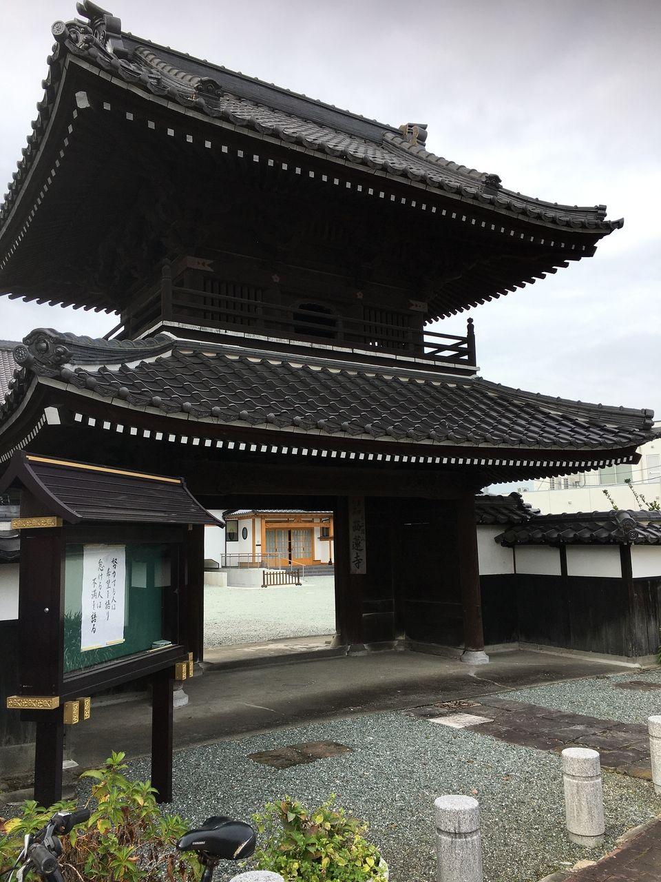 熊本市南区西蓮寺楼門