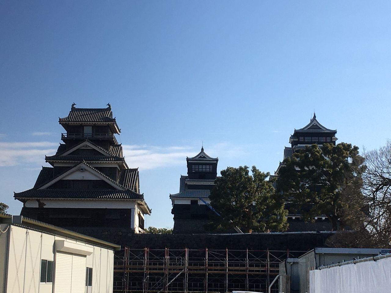 熊本城 天守閣 二の丸 宇土櫓
