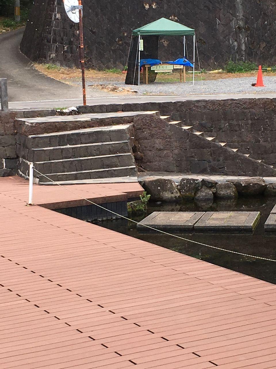 夏の風物詩でもある嘉島の天然プール