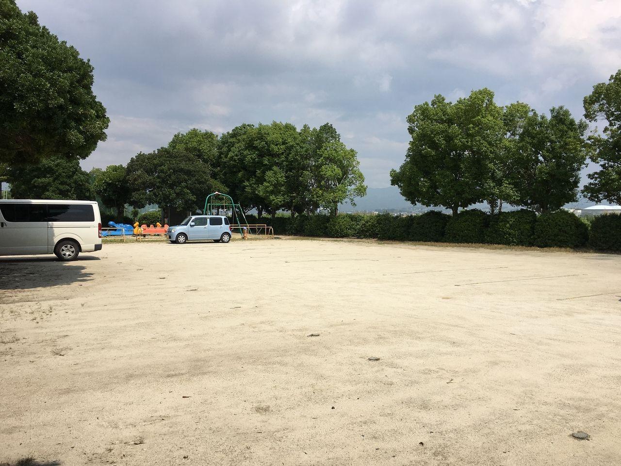 第一駐車場が満車のときの駐車スペース