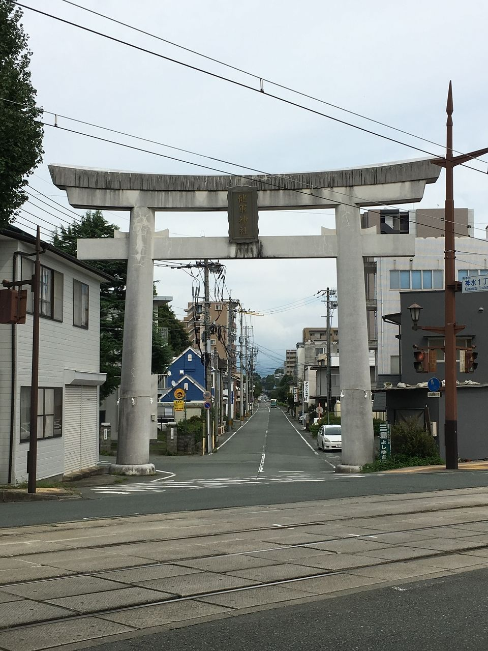 健軍神社参道Ⅱ