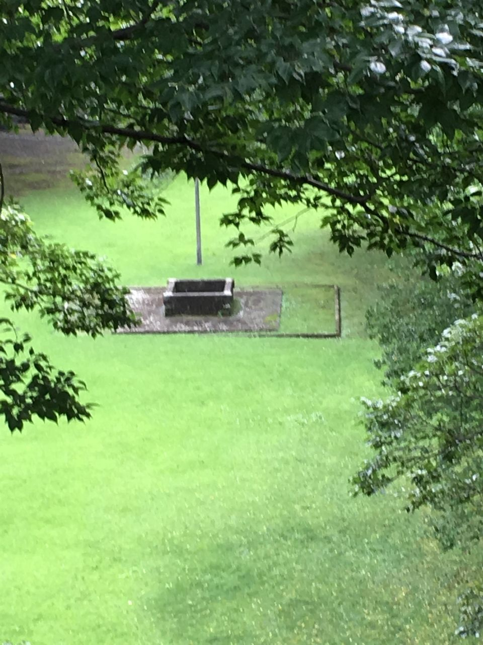 城内にみられる井戸