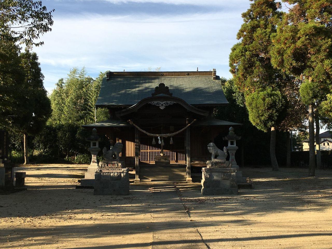中無田熊野座神社本殿