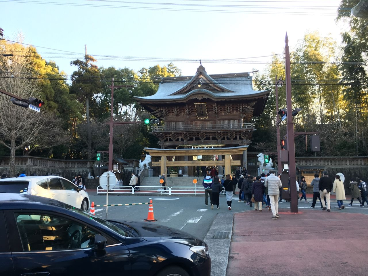 2020年1月1日健軍神社へ初詣