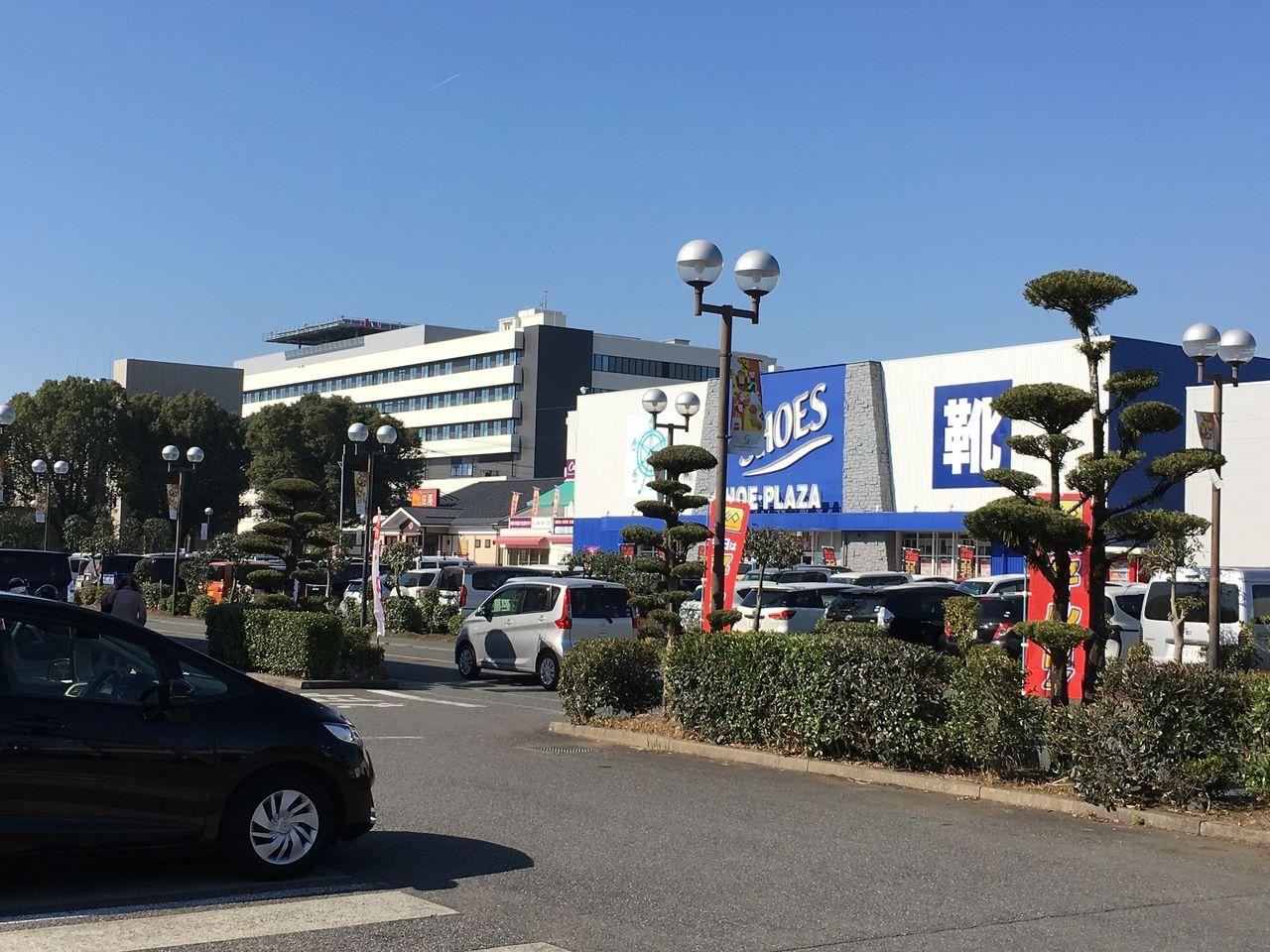 熊本市東区東町にあるサンロードシティ熊本にあるSHOE・PLAZA