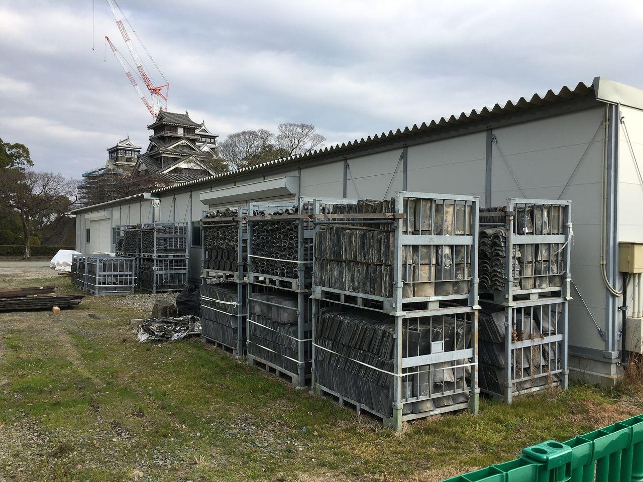 復興進む熊本城2020年1