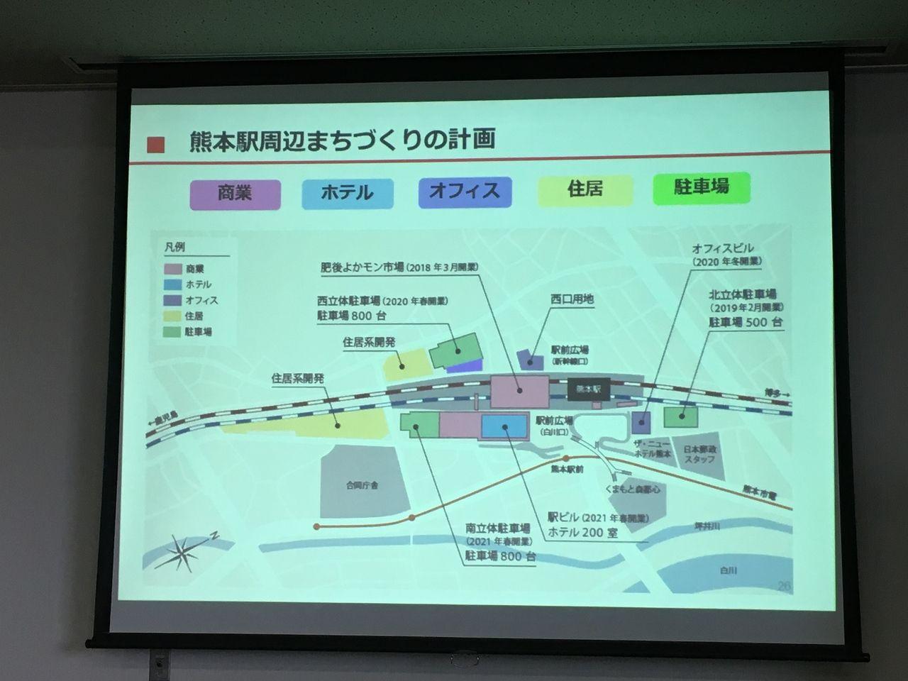 熊本駅周辺のまちづくりの計画