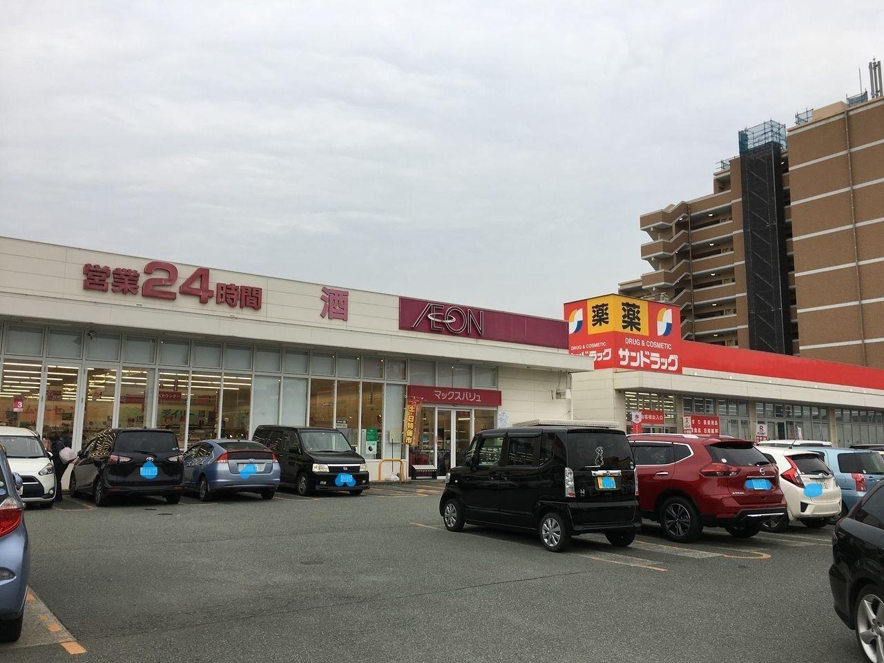 サンロードシティ熊本の駐車場はいつもいっぱいです。