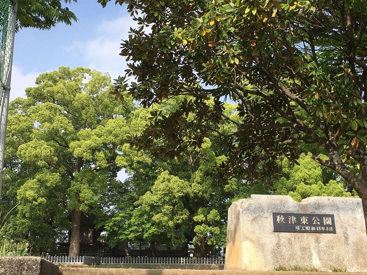 熊本市東区にある秋津東公園