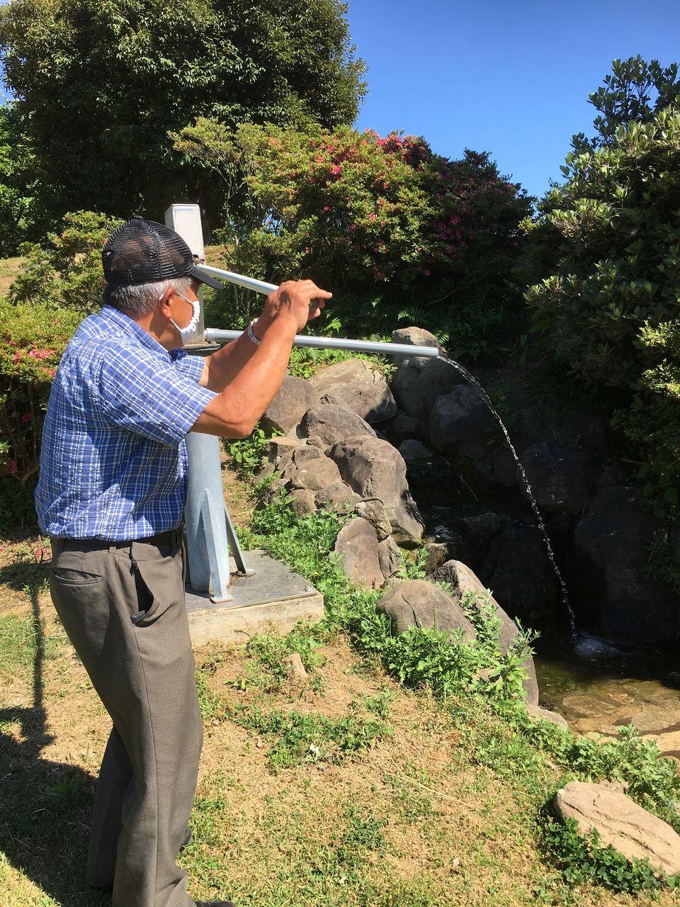 地元の地域の役員さんにより定期的に給水点検されている災害対応型の井戸も設置されている秋津3丁目公園