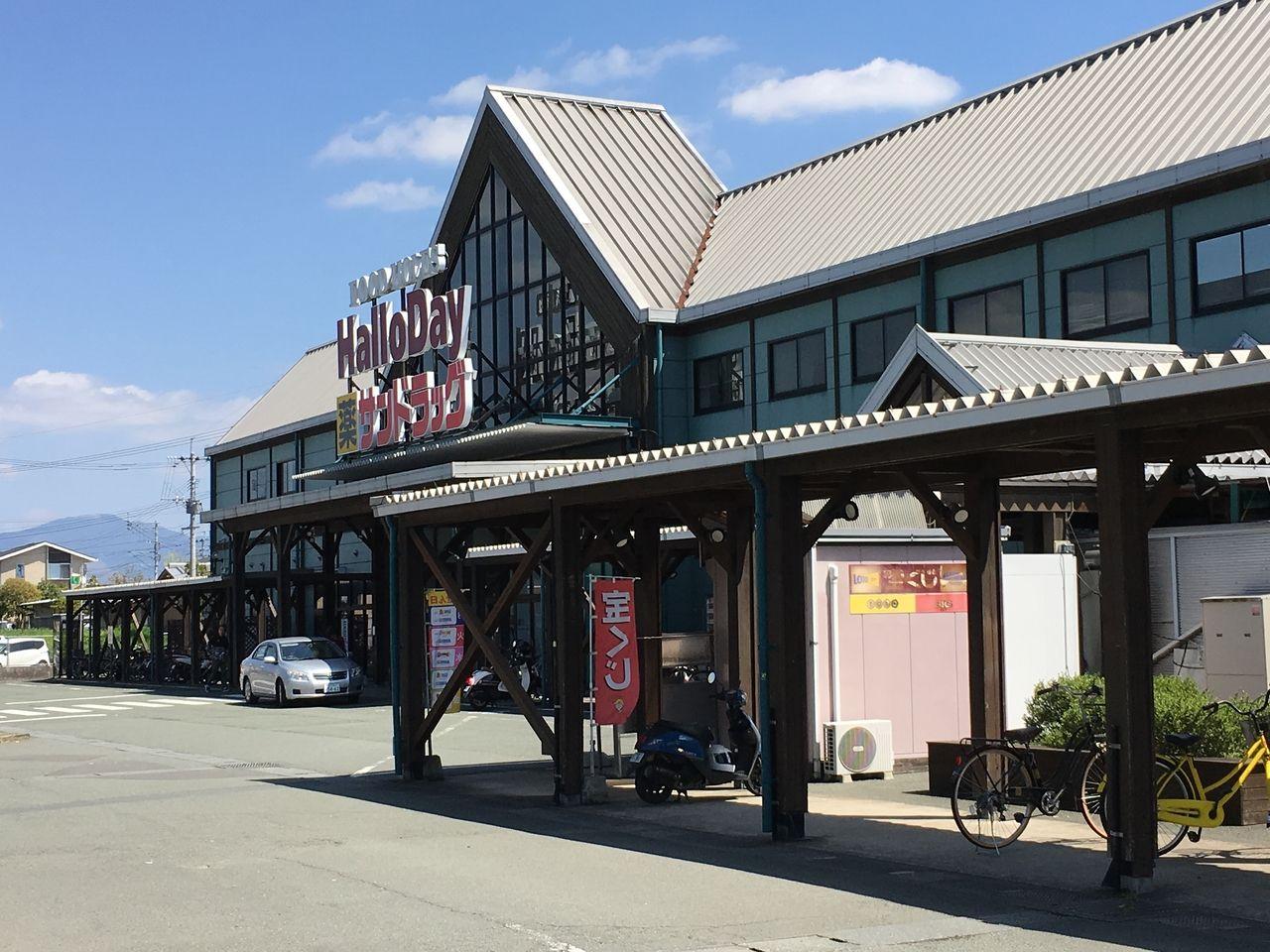 ショッピングモールさくらの森の店舗入口